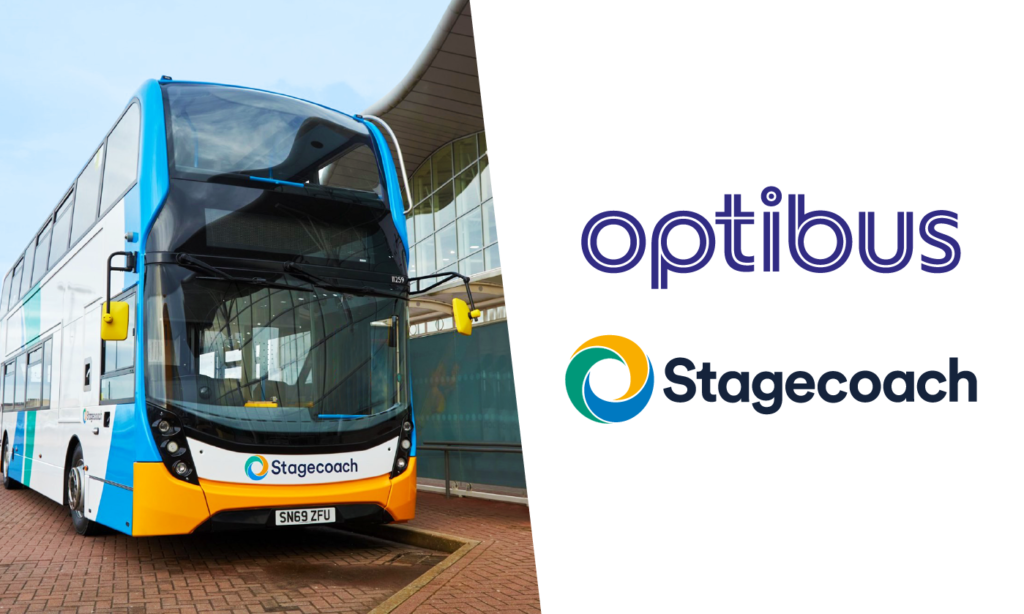 Stagecoach Partners With Optibus to Plan Bus Networks of the Future